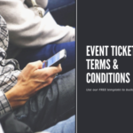 event ticketing terms and conditions template